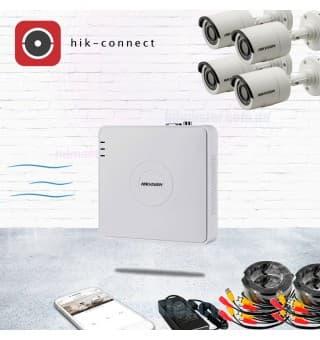 KIT19-cord комплект видеонаблюдения Full HD для дома Hikvision